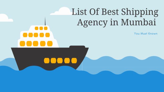 Top best shipping agency mumbai